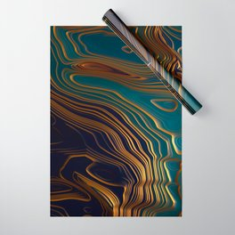 Peacock Ocean Wrapping Paper