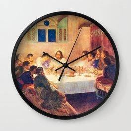 Last Supper Wall Clock