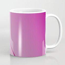 Design lines, exotic pink Coffee Mug