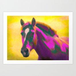 Horse, Wild Art Print