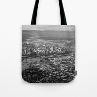 portland Tote Bags featuring Portland by Erik Graham Photography