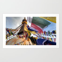 Boudhanath Art Print