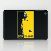 scarface iPad Cases featuring The One Who Knocks by WinterArtwork