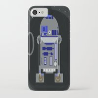 r2d2 iPhone & iPod Cases featuring R2D2 by Meg Gerena