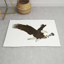 Lacrosse Eagle Rug