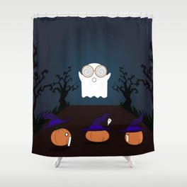 Trick or treat! Shower Curtain