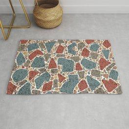 Modern Terrazzo Stones Pattern Rug