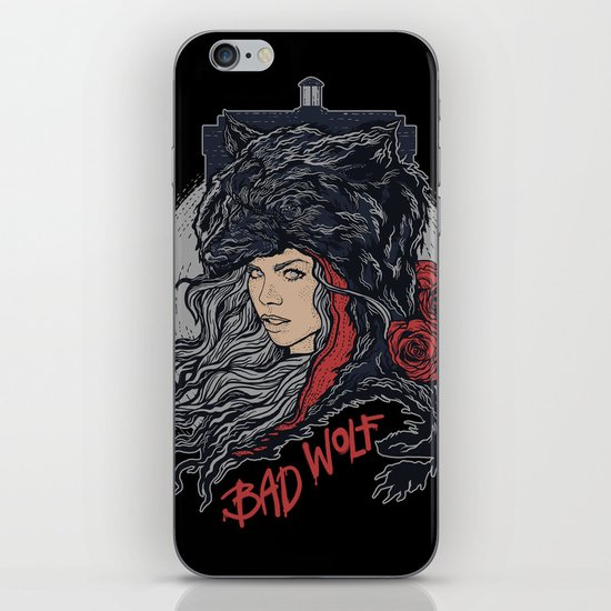 Bad Wolf iPhone Skin