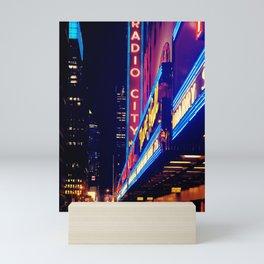 New York City Neon Jungle Mini Art Print