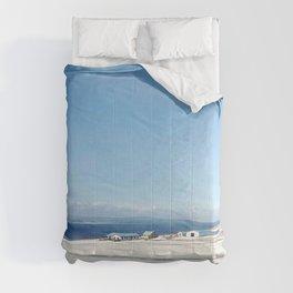 Blue roof Comforters
