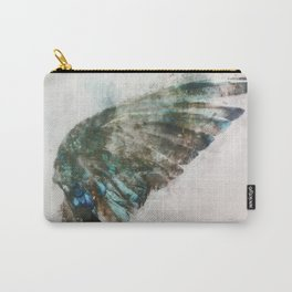 An angel lost its wing Carry-All Pouch