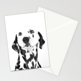 Black and White Dalmatian Stationery Cards