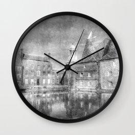 Three Mills Bow London Vintage Wall Clock
