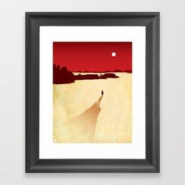 Red Dead Framed Art Print