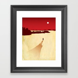 Red Dead Framed Art Print
