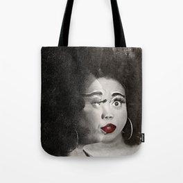 Keisha D Face To Face Tote Bag