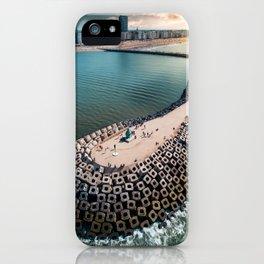 Coast of Belgium iPhone Case