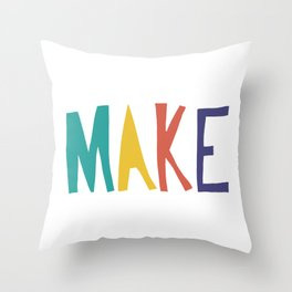 A reminder pillow for my office Throw Pillow