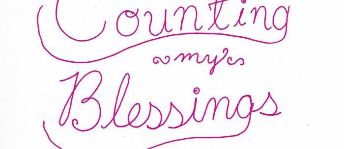 Counting Blessings Coffee Mug