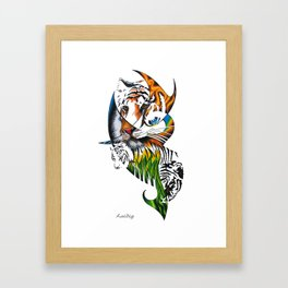Sumatran Tiger Framed Art Print