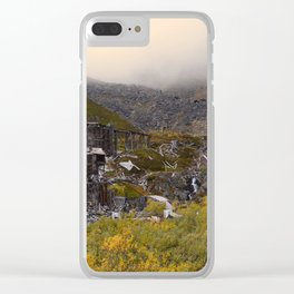 Independence Mine - Hatcher Pass, Alaska Clear iPhone Case