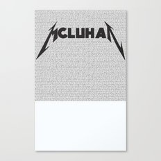 Heavy Metal Thunders Canvas Print