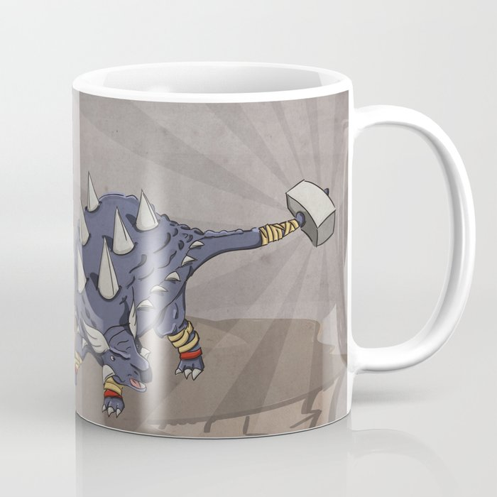 Ankylothorus - Superhero Dinosaurs Series Coffee Mug