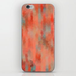 Coral Mirage iPhone Skin