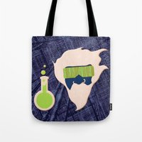 data Tote Bags featuring Data Scientist by Ryan Hill