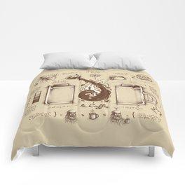 Le Coffee (Fluid of Creativity) Comforters