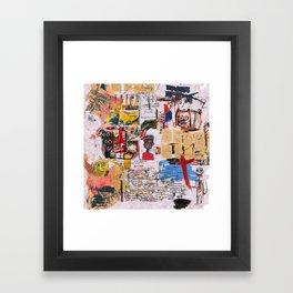 Al Diaz Framed Art Print