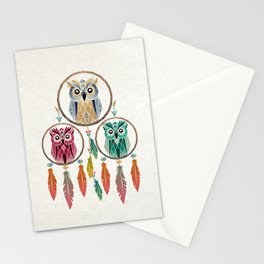 dream owl Stationery Cards