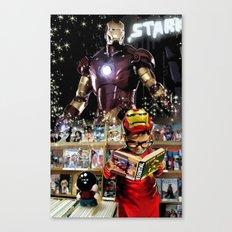 Iron Man: Dreaming Big Canvas Print