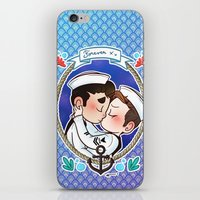 sailor iPhone & iPod Skins featuring Sailor by Sunshunes