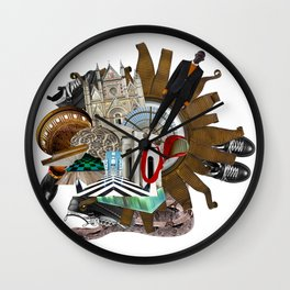 Fashion Trends by Lenka Laskoradova Wall Clock