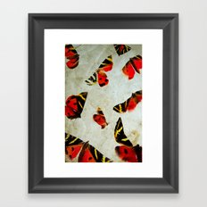 Anxiety Framed Art Print