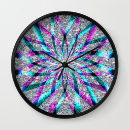 Spring time at the  MayPole.... Wall Clock