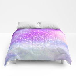 Sacred Geometry (Sri Yantra) Comforters