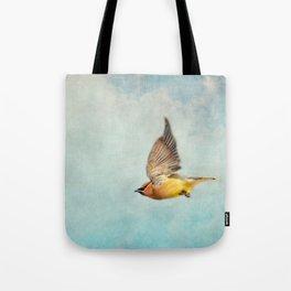 Winter Flight Tote Bag