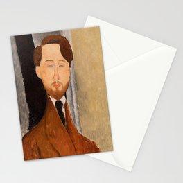 Leopold Zborowksi by Amedeo Modigliani, 1919 Stationery Cards