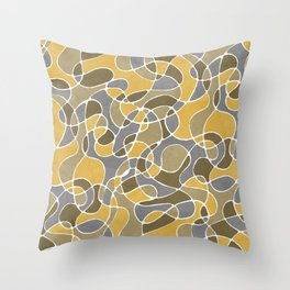 The Energy Of Barcelona Throw Pillow
