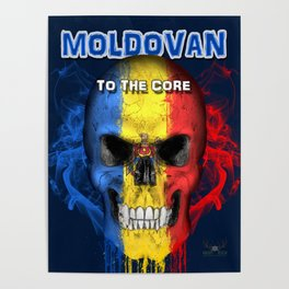 To The Core Collection: Moldova Poster