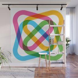 Colorful Swirl Wall Mural