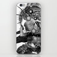 totem iPhone & iPod Skins featuring Totem by DIVIDUS