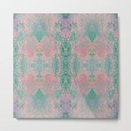 Pink Salt Metal Print
