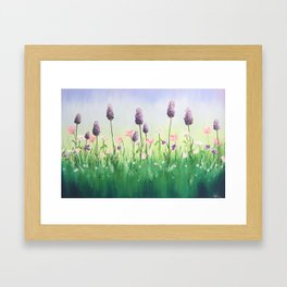 YESTERDAY, TODAY and TOMORROW Framed Art Print