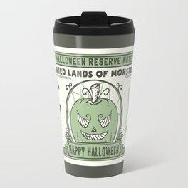Halloween 1 Dollar Bill Travel Mug