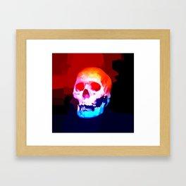 Skull02 Framed Art Print