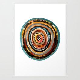 Portal III Collage Art Print