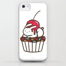Chubby Bunny on a cupcake Slim Case iPhone 5c